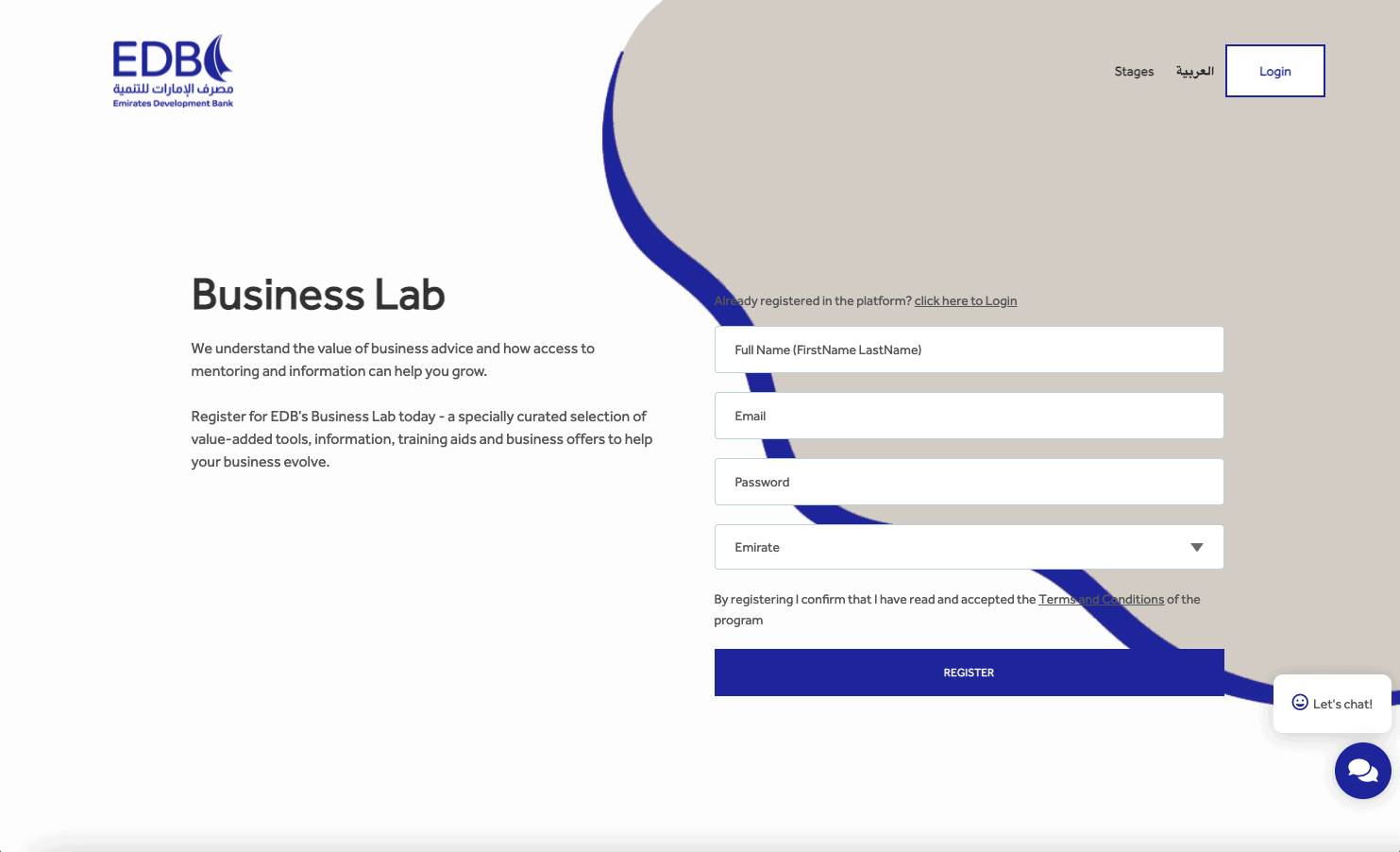 Business Lab - Non-Financial Services