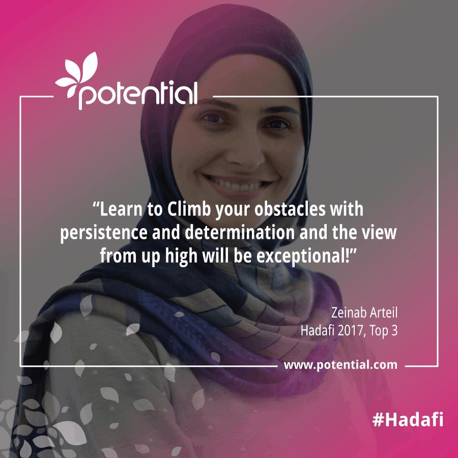 Hadafi Winner - Zeinab Arteil