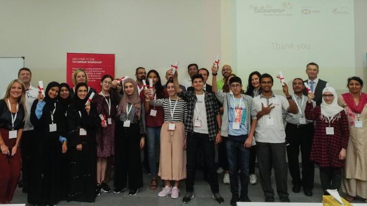 Tatawwar-group-photo-Abu-Dhabi