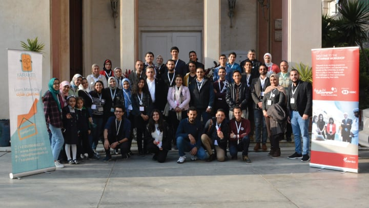 Highlights from the Tatawwar semifinal workshops in the Middle East and North Africa