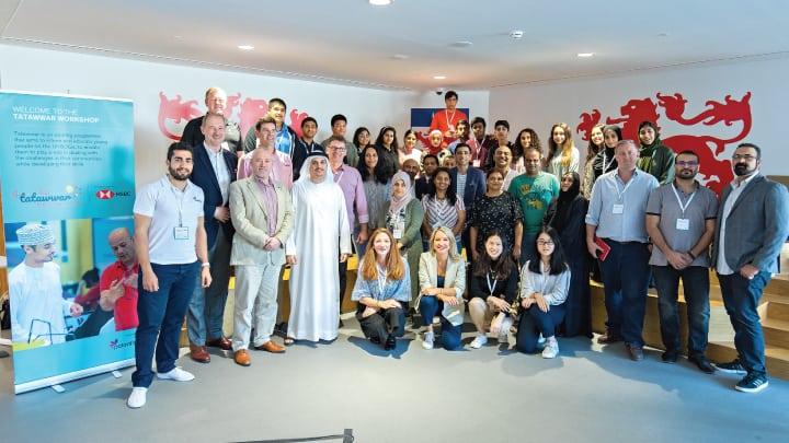 Tatawwar-group-photo-Dwight-School-Dubai